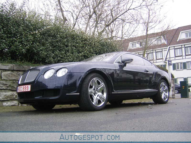 bentley continental gt 3 november 2005 autogespot. Black Bedroom Furniture Sets. Home Design Ideas