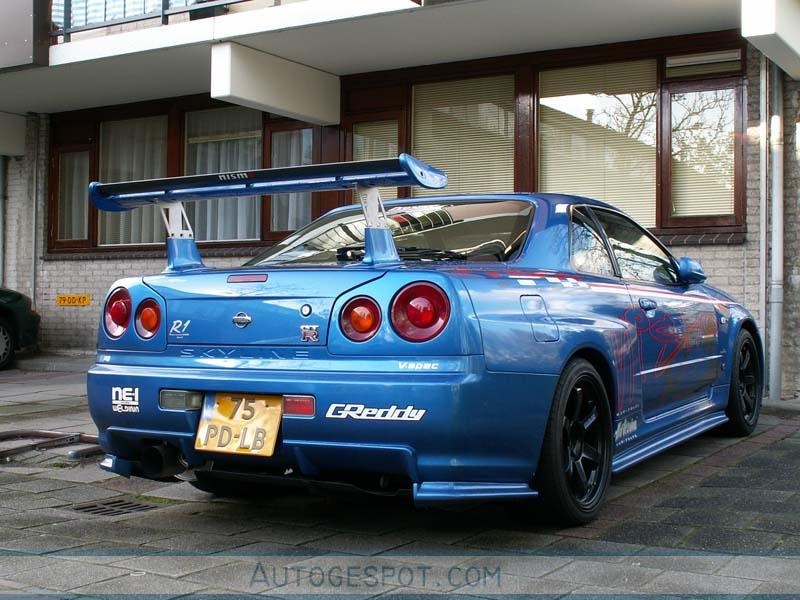 Nissan Skyline R34 Gt R V Spec Ii 7 November 2005